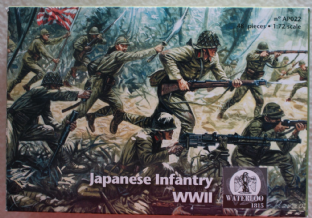 Waterloo 1815 1/72 WATAP022 Japanese Infantry (WW2)